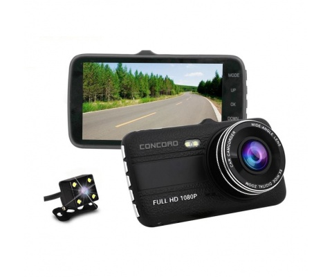 Concord | C-656 | 4.0 Car Camera Full HD Two Camera