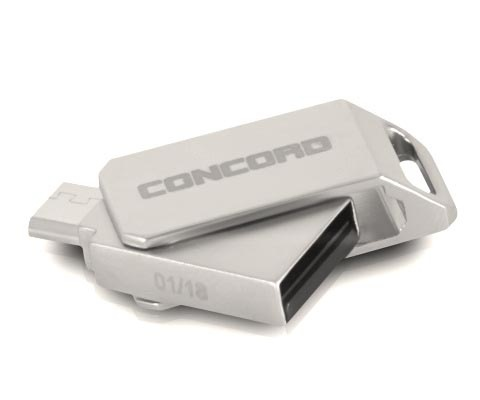 Concord C-OTG64 | 64 GB Micro and USB 2.0
