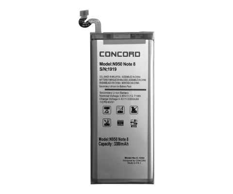 Concord | C-1034 | Samsung N950 Note 8 3300 mAh