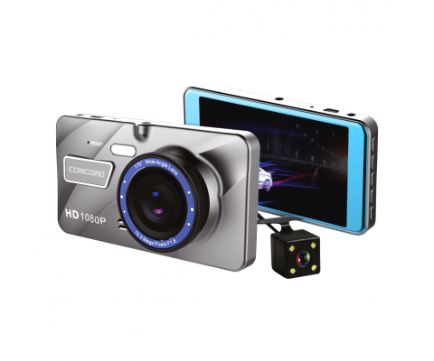 Concord C-659 4.0'' Car Full HD Dual Camera