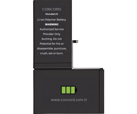 Concord C-1046 iPhone X Battery