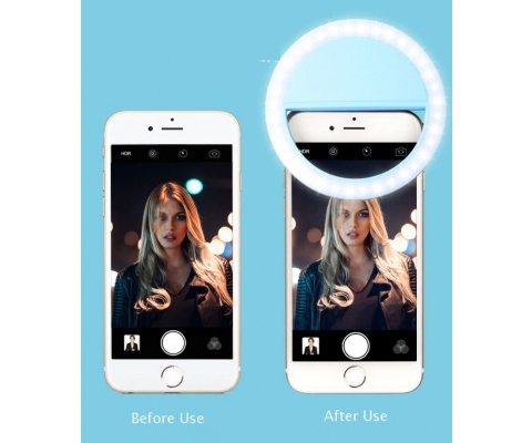 Rechargeable 3-Stage 36 Led Selfie Light