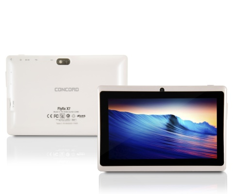 Concord C-751 Flyfix X7 | 7 INC HD | 1 GB | 8 GB Tablet